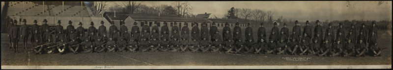 Purdue University World War I unit, 1918